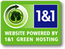 Logo 1 and 1 GreenHosting